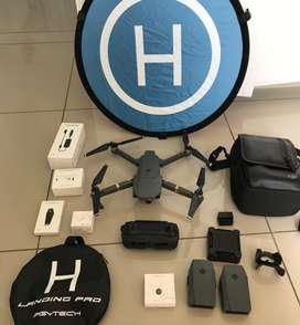 DJI Mavic Pro Drone with Fly More Combo AND PGYTECH Accessories Combo