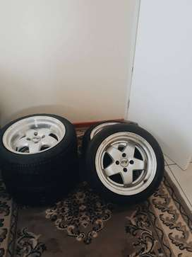 TYRES AND RIMS FOR SALE @ R6000
