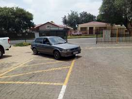 Toyota Tazz neat still in best condition . You just drive to any place