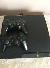 Image of Ps3 320gb + 2 controllers