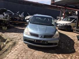 Nissan tida stripping for spares parts