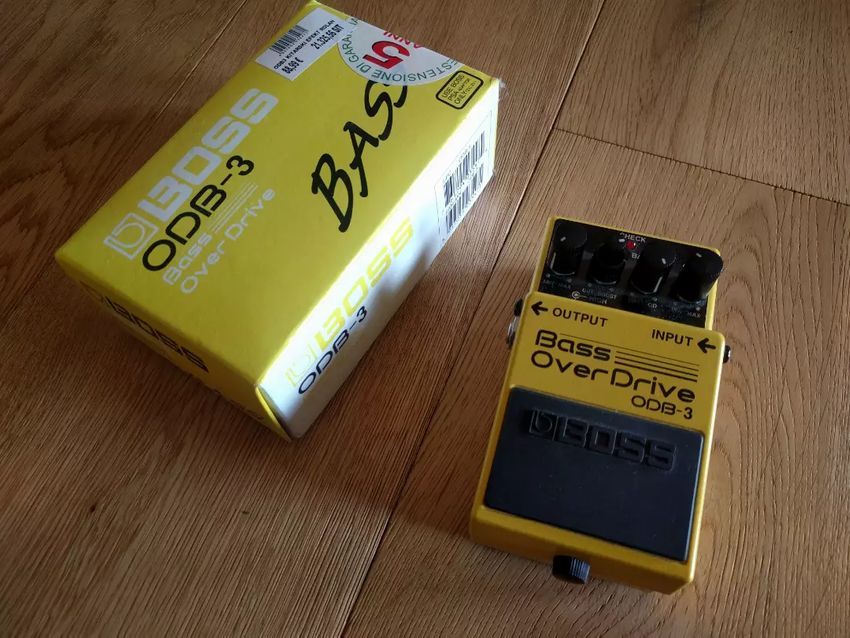 Boss ODB-3 Bass Over Drive; distortion efekt za bas kitaro 0