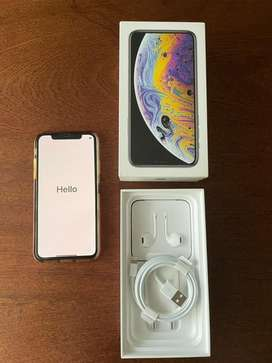 iPhone XS - brand new screen protector & original accessories