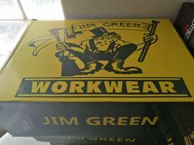 Bargain!! JIM GREEN IRON TIP SAFETY BOOTS