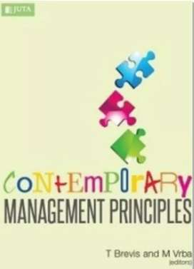 Textbook : Contemporary Management Principles, 4th Edition
