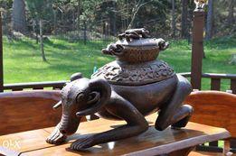 Orginalna ludowa rzeźba afykańska