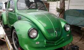 1973 VW Beetle 1600 twin port. With extras.