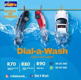 Dial A Wash (It's a mobile car, carpets & couches wash)