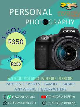 Photography and Video Shoots