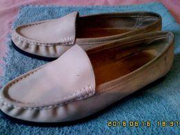 Туфли женские-мокасины «Ara», натуральная замша