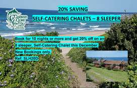 8 sleeper Chalet available - 20% Saving