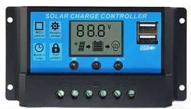Solar Charge Controller 10A 12/24V - New