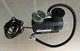 AIR COMPRESSOR FOR MOTORCYCLE TYRES, PORTABLE