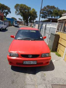 Toyota tazz for sale.still in good condition,everyday use