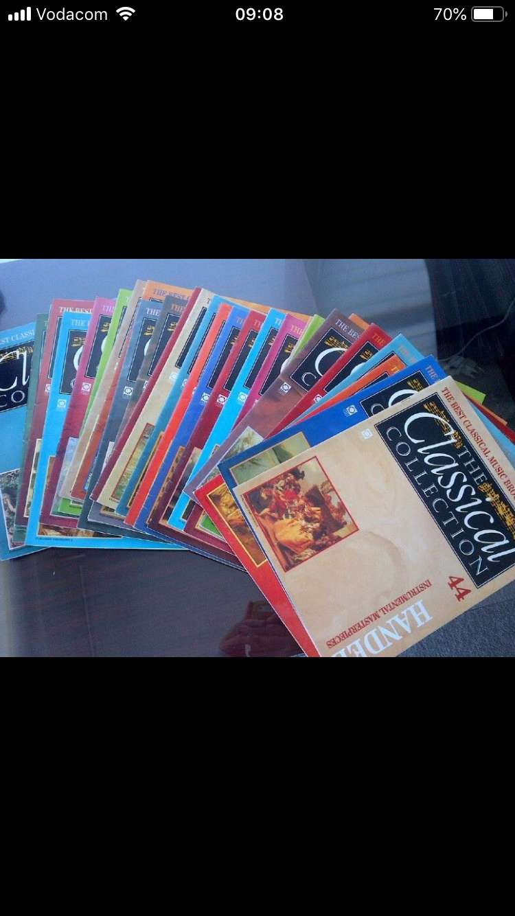 Classical Collection: CD's and magazines