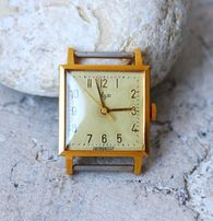 часы Луч СССР Позолоченные