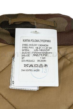 Kurtka Bechatka Wojskowa WZ.93 z Podpinką Nowa Sierakowice - image 4