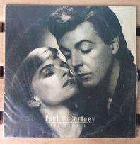Paul McCartney – Press To Play 1986 пластинка винил (vinil)