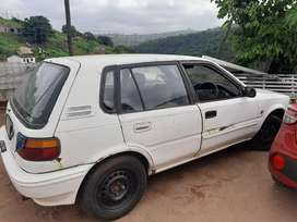 Strippin toyota tazz complete spares