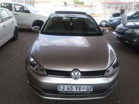 vw Golf 7 Blue motion