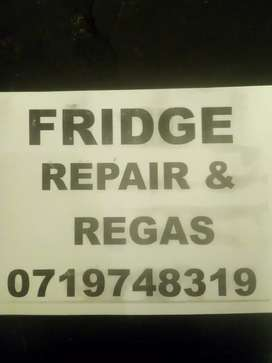 FRIDGE REPAIR AND REGASING ON-SITE CALL OR WHAT'S APP ME FOR SERVICES