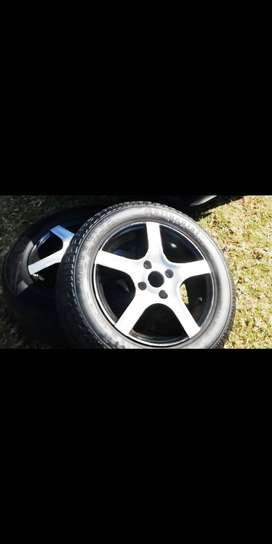 "14""   TSW APEX Rims and tyres"
