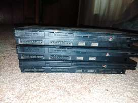 Selling ps2 ×3 for sale for parts