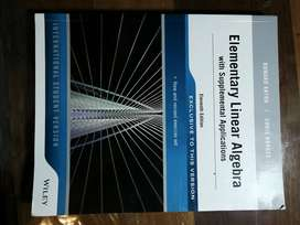 UNISA : Elementary Linear Algebra with Supplemental Applications