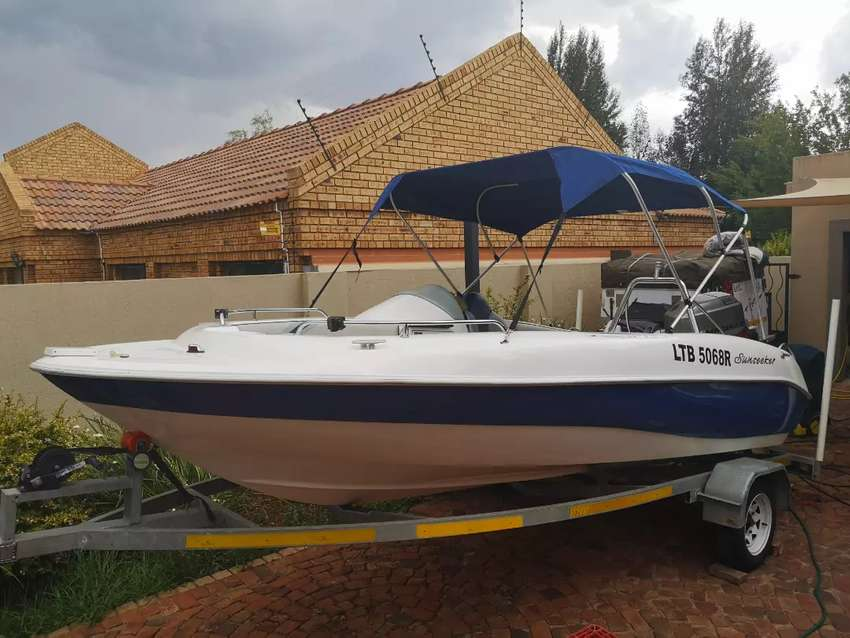 2008 Sunseeker with 125hp 0