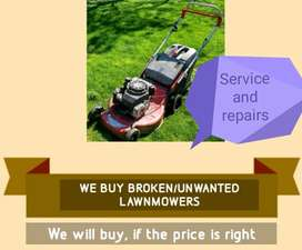 Lawnmowers/buy/service /repairs