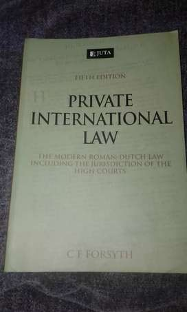 Private International Law Juta5e