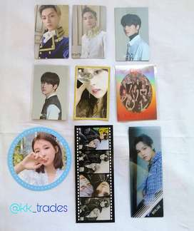 Kpop Photocards/inclusions
