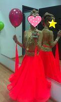 Платье для спортивно-бальных танцев стандарт, латина рост 146-154