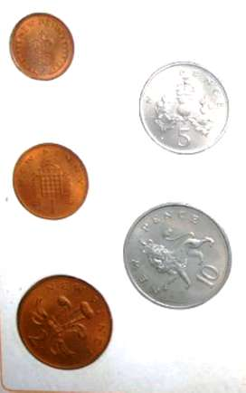 New penny Collection Coins