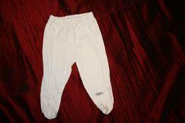 Białe półśpiochy Staccato, 68, 100% bawełna, haft na nogawce