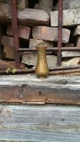 Ваза старинная,латунь,чеканка.Винтаж,антиквариат,лофт.Декор.Loft.