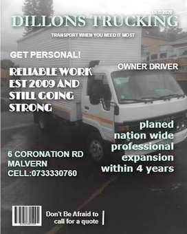 4 ton closed truck for hire0