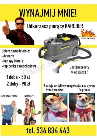 Wynajem odkurzacz piorący Karcher Puzzi, tapicerka, kanapa, dywan,auto Gdańsk - image 1