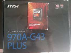 Pc upgrade kit Motherboard + Cpu and 8gb ram