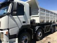 Image of FM 9 Volvo 380 twinsteer 18cube Tipper