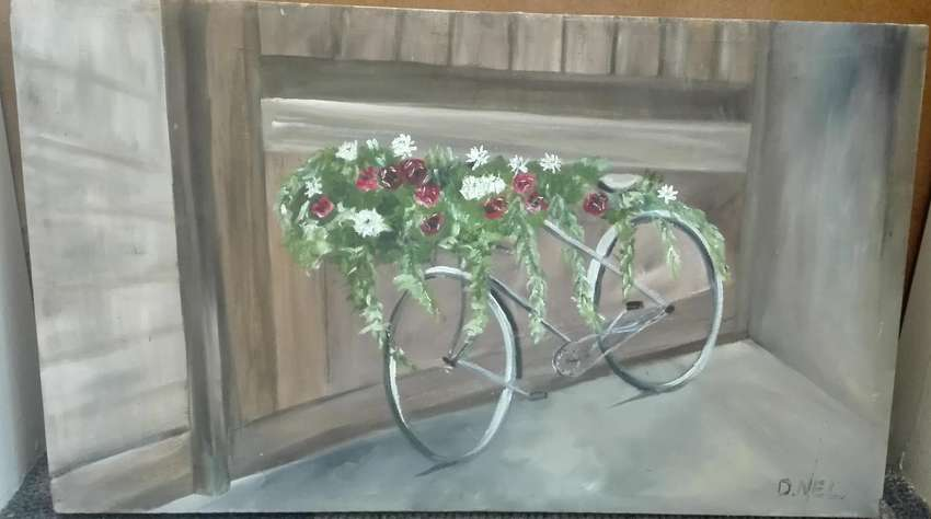 Oil Painting - Bicycle 0