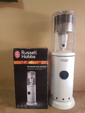 Russell Hobbs outdoor gas heater  Only used 1 time R2000 neg. Richard