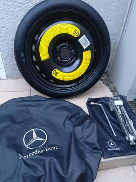 Brand New A45 AMG '19 Emergency Space Spare Wheel kit ClearAMG Brakes