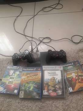Playstation 2 (PS2) slimline in good condition