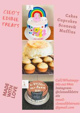 Cakes,cupcakes,muffins and scones