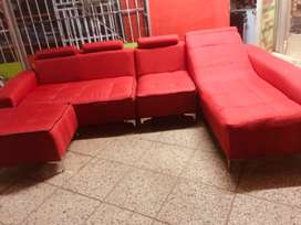 L red couch