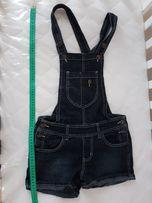 Ogrodniczki XS jeans nowe