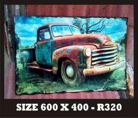 Old Rusted Truck Sign