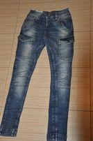 Spodnie Zara jeans rozm 34