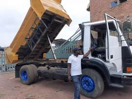 I am looking for job rubble removal tipper truck